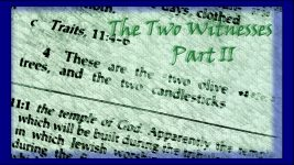 The Two Witnesses: Part II
